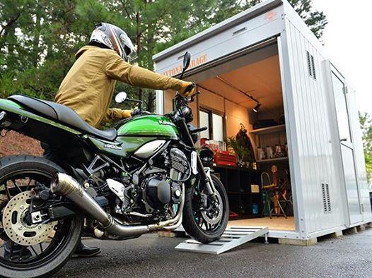バイクガレージなら、ナップス岡山店にお任せあれ(o'∀')b