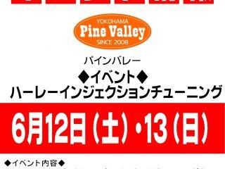 6月12日(土)・13日(日)開催!!パインバレーによるハーレーECUチューニング